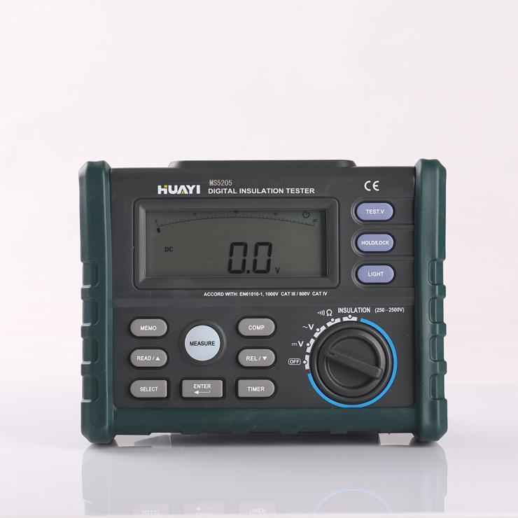 Insulation Resistance Meter Tester Multimeter Portable MS5205 MegOhm meter DC250/500/1000/2500V AC750V Megameter<br><br>Aliexpress