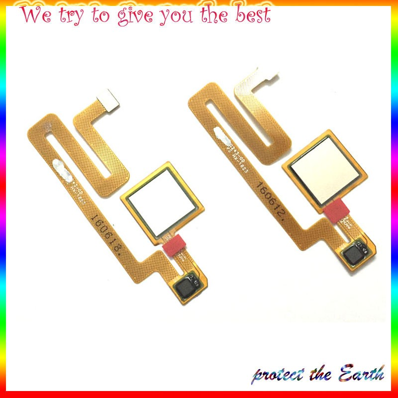 10Pcs/Lot, Original New Fingerprint Sensor Home Return Key Menu Button Flex Cable For Xiaomi Max Mi Max Replcement Parts