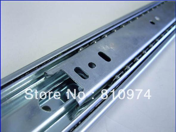 "24"" Hydraulic Soft Close Ball Bearing Drawer Slides 2 Pcs Free shipping"