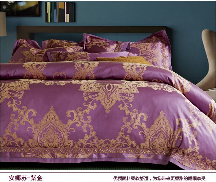 Compare Prices on Purple Gold Comforter Sets- Online Shopping/Buy ...