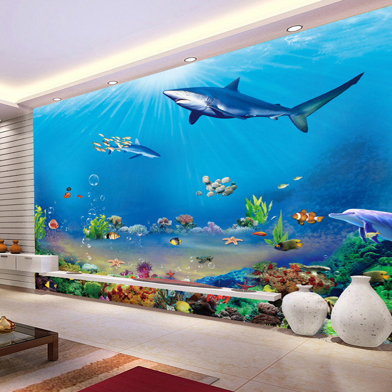 underwater wall murals promotion shop for promotional