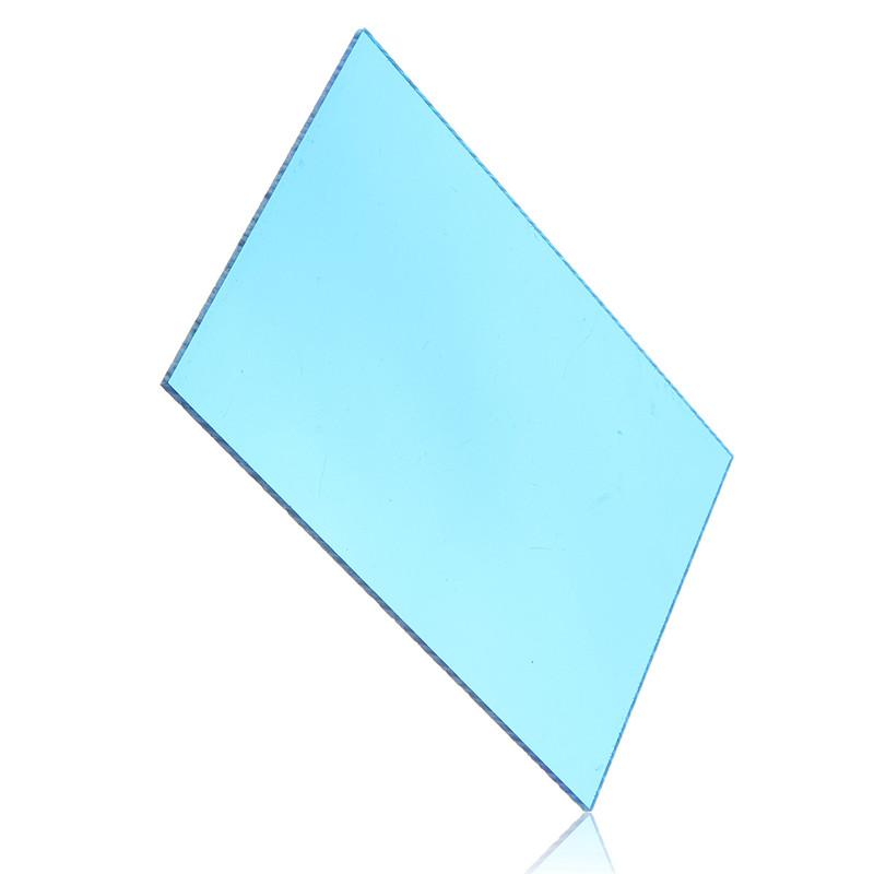 148*105*3mm Transparent Blue Acrylic Plate Clear (Extruded) Home Decor Plexiglass Plastic Transparent Sheet Promotion Price(China (Mainland))