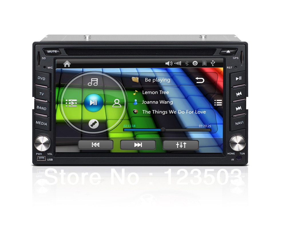 New 6.2 '' Universal Car DVD Player +GPS Navigation+RDS Function+Analog TV +Steering Wheel Control,etc(China (Mainland))