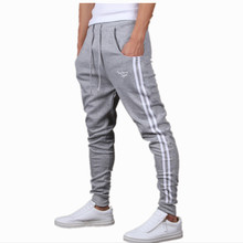 Mens Joggers New Fashion:Casual Harem Sweatpants Sport Pants Trousers Sarouel Men Tracksuit Bottoms For Track Training Jogging(China (Mainland))