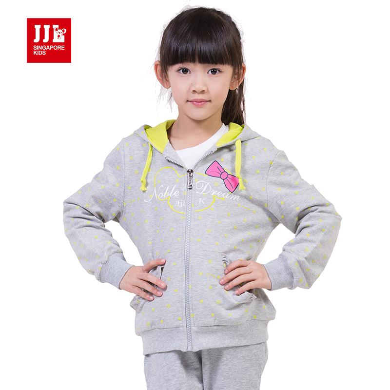 kids babys girls active sweatershirts news childrens sport coat zipper design hooded girl coat<br><br>Aliexpress