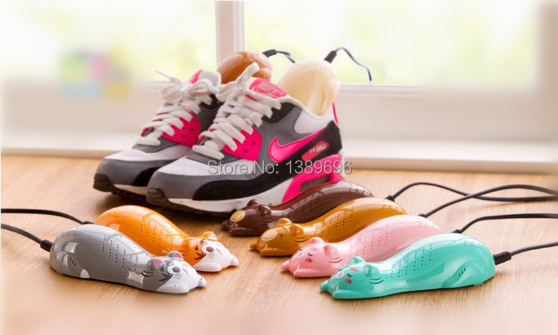 Shoes Dryer Shoes Warmer Deodorant Cartoon Shape 9 colors NEW arrival HOT sales 2015 Fashion(China (Mainland))