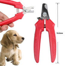 1 Pcs Red Brand New Cheap Pet Animal Dog Cat Nail Clippers Scissors pet Toe Care Nail Grooming Trimmer Clipper Stainless steel(China (Mainland))