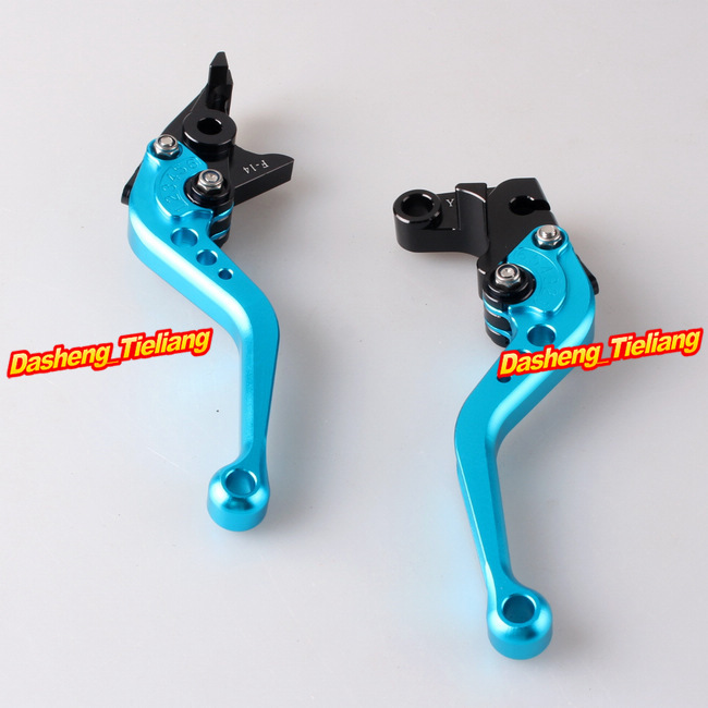 Racing Short Brake Clutch Levers For Yamaha YZF R1 2002 2003 & YZF R6 1999-2004 Aluminum Alloy CNC Machined(China (Mainland))