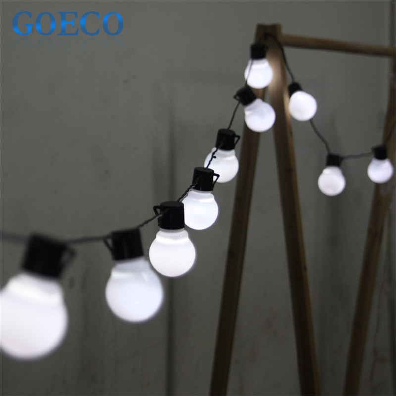 Globe String Lights Big Lots : 3X Novelty 5CM big size ball 5M 20LED String Black wire LED Starry Lights Christmas Wedding ...