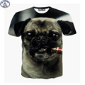 Mr 1991 new 11 20 years teens boys tshirt dog smoking 3D printed children s t