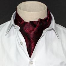 1 Piece Fashion Brand Men Scarves Cravat Polyester Paisley Pattern Gentlemen Dots Selft Tie Wedding  Ascot Bowtie Tuxedo Scarf (China (Mainland))
