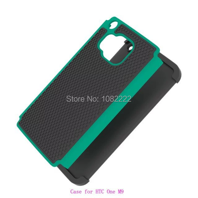 Free Shipping New Football Design 3 in 1 Silicon +PC Hybrid Back Cover For HTC One M9(China (Mainland))