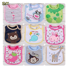 300pcs/lot Baby Waterproof Bib