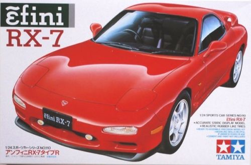 Free Shipping Tamiya #24110 1/24 Scale Model Sport Car Kit Mazda Efini RX-7 FD-3S Hobby Model Kit(China (Mainland))