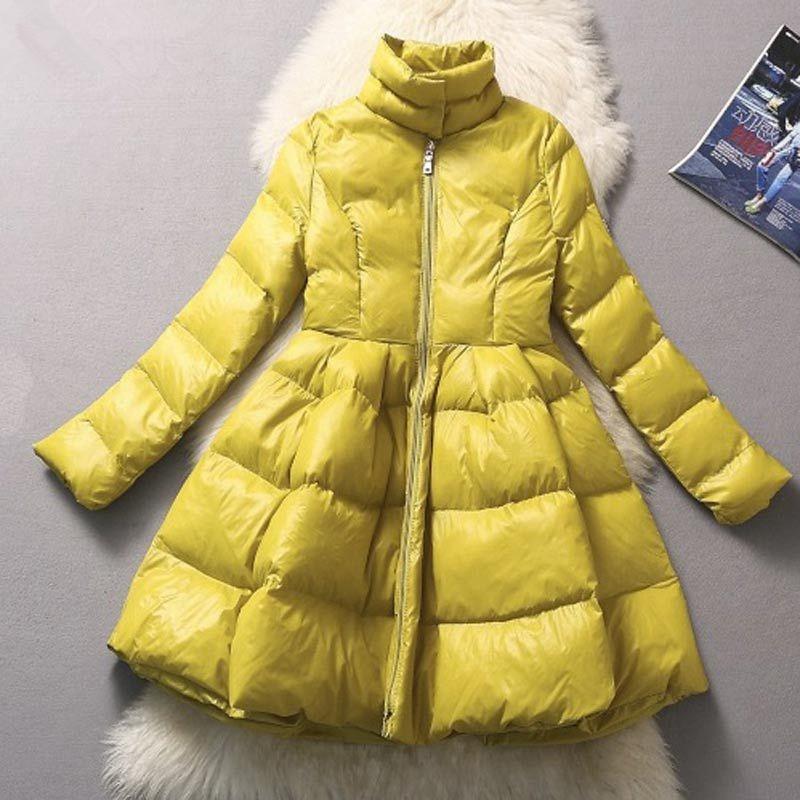 2015-Winter-European-fashion-high-waist-thicken-down-coat-for-women-big-swing-warm-long-jackets