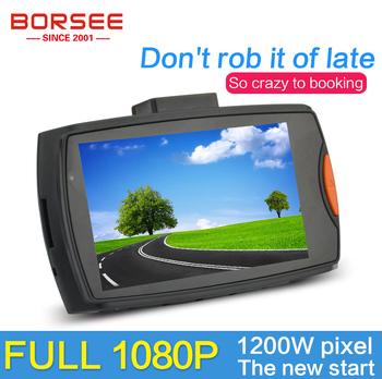 """Borsee оригинальный R1 автомобильный видеорегистратор HD1080P 2.7 """" 170 град. широкоугольный видеокамера обнаружения движения ночного видения автомобиля g-сенсор"""