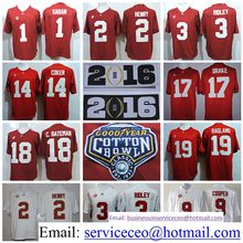 Alabama Crimson Tide College 2 Derrick Henry 1 Nick Saban 14 Jake Coker 17 Kenyan Drake 19 Reggie Ragland 42 Eddie Lacy product(China (Mainland))