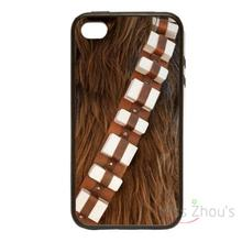 For iphone 4/4s 5/5s 5c SE 6/6s plus ipod touch 4/5/6 back skins mobile cellphone cases cover Star Wars Chewbacca Style