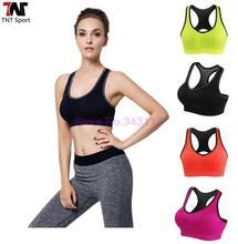 Sexy Fitness Women Sports Bra Gym Running Jogging Crop Top Tank Padded Underwear Tennis Vest Yoga Sports Bra S333(China (Mainland))