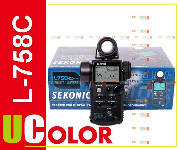 Genuine Sekonic L-758 Cine DIGITALMASTER L-758C Light Meter Flash Master<br><br>Aliexpress