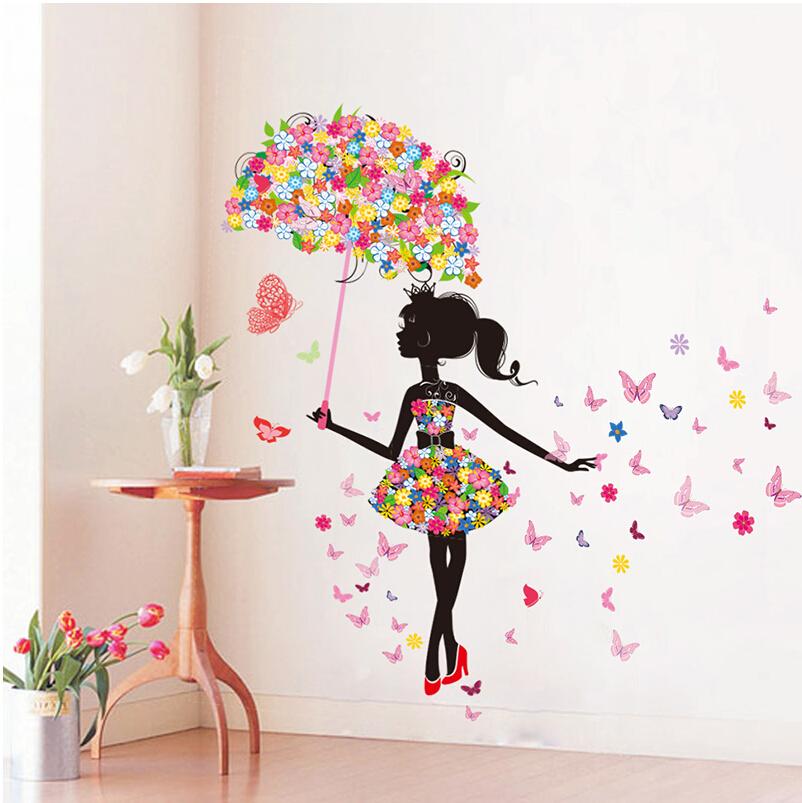 Бабочки в декоре спальни