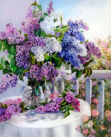 DIY European painting diamond flower series cross stitch crape myrtle stick full diamond manufacturers selling(China (Mainland))