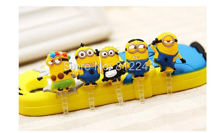 Cartoon Anti Dust Plug for Mobile Phone Accessories Headphone Earphone Jack Plug 3.5mm Jack 21024