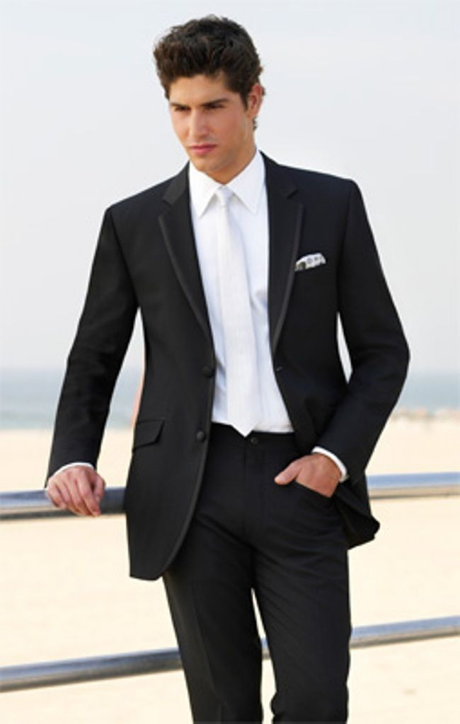 2016 Custom Made Fashion Black Men 39 S Suits Jacket Pants