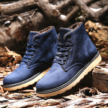 2016 new barrel in winter to keep warm brand wood slippery snow rain man short boots kanye west timber Max land shoes men hot(China (Mainland))