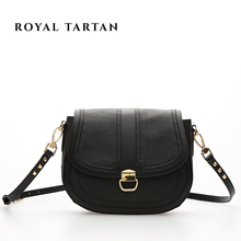 ROYAL TARTAN ladies luxury bag women leather handbags genuine leather brand shoulder bag designer handbag women messenger bags