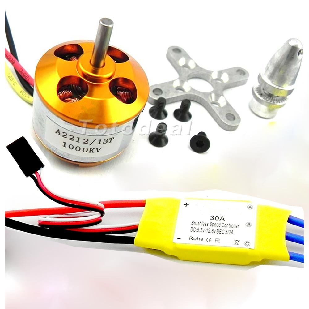 Speed Controlled by Aircraft Speed Controller For rc