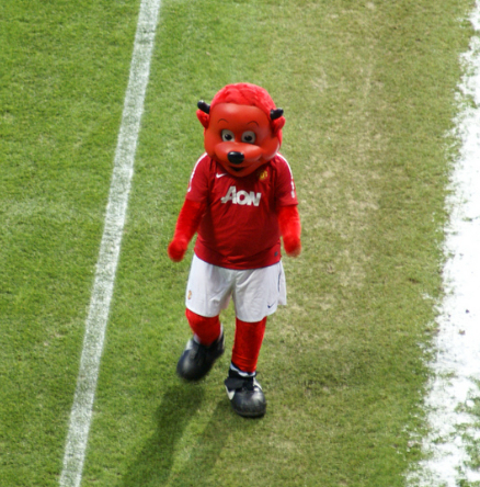 Fast custom football sport devil Fred the Red cartton Mascot costumes Adult size Costume by express free shipping(China (Mainland))
