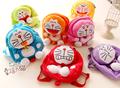 Gift for baby 1pc 27cm cartoon super cute rainbow Doraemon plush backpacks school creative children boy