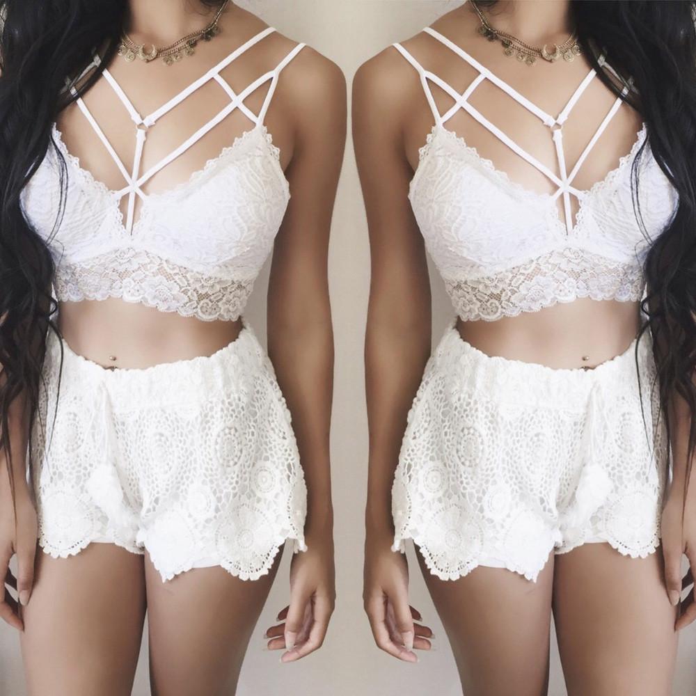 dc4d274891ebd 2019 Sexy Women Solid Bralette Bustier Crop Top Bra Shirt Vest ...