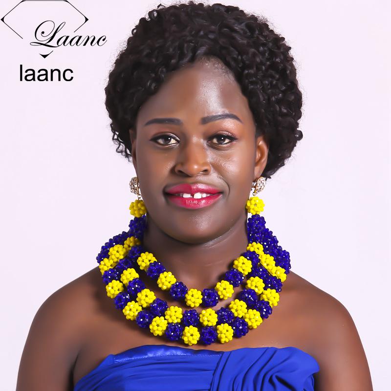 214African Wedding Beads Jewelry Set214