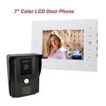 """Beste 7 """"farbe Video Türklingel Video-gegensprech Türsprechanlage IR Nachtsicht Kamera-monitor-kit für Home Security F4338B1(China (Mainland))"""