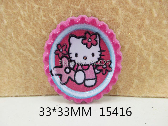 5y15416 freeshipping 33 33mm cartoon kitty pattern Depot outlet bochum