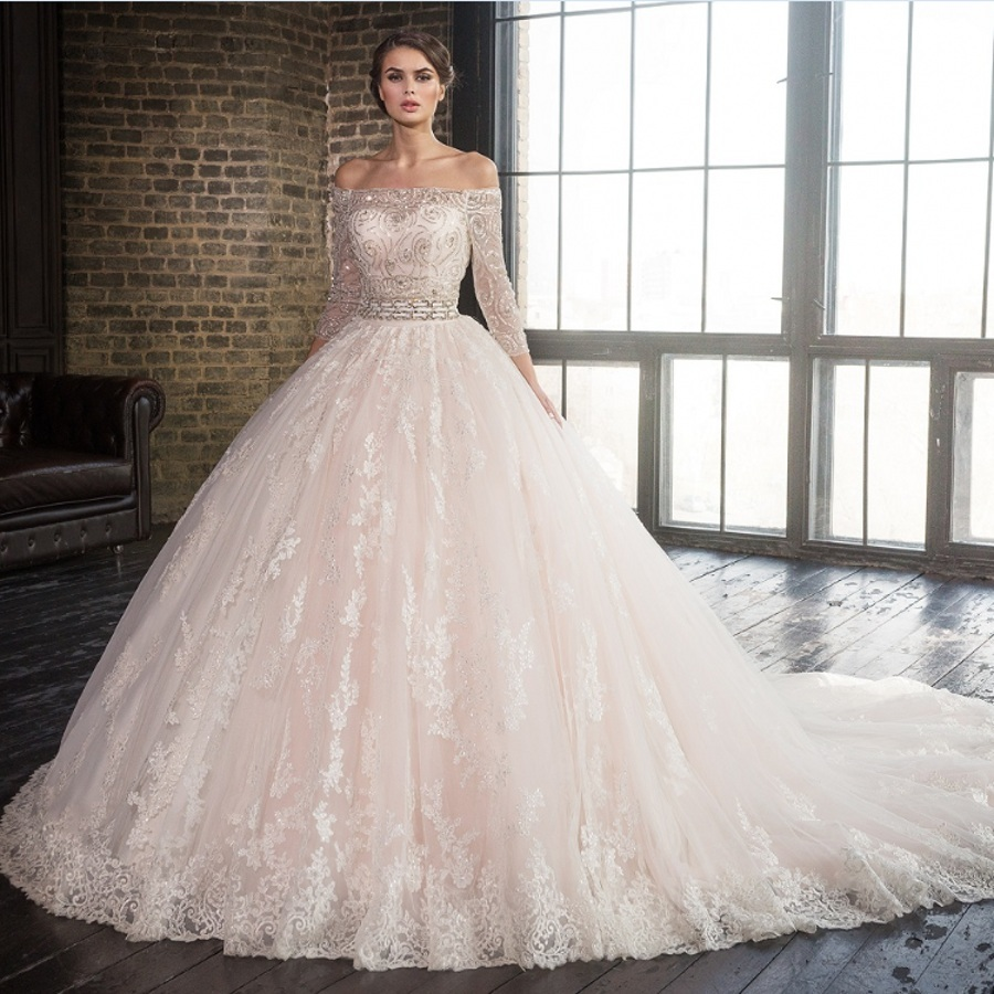 Wedding dress most beautiful promotion shop for for The most gorgeous wedding dress
