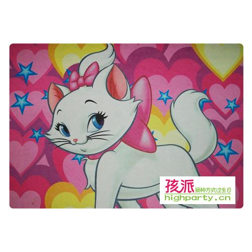 Birthday supplies birthday gift marie cat placemat 6