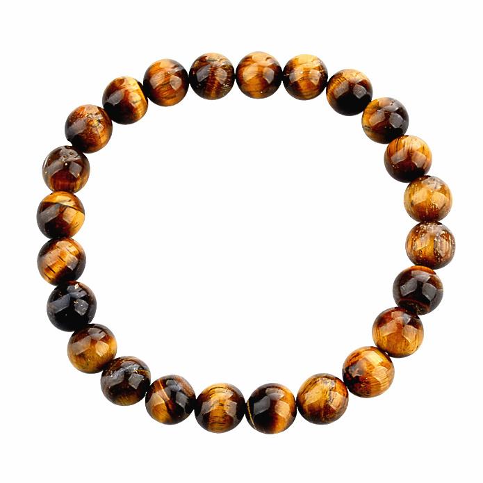 2015 Tiger Eye Buddha Bracelets Bangles Elastic Rope Chain Natural Stone Bracelets For Women and Men Jewelry SBR140389(China (Mainland))