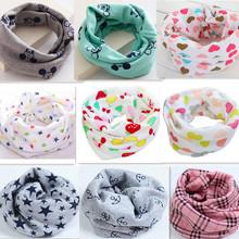 2016 New Spring Autumn Winter baby scarf 40*20cm kids child cotton scarf boys girl O Ring scarf children collar child neck scarf(China (Mainland))