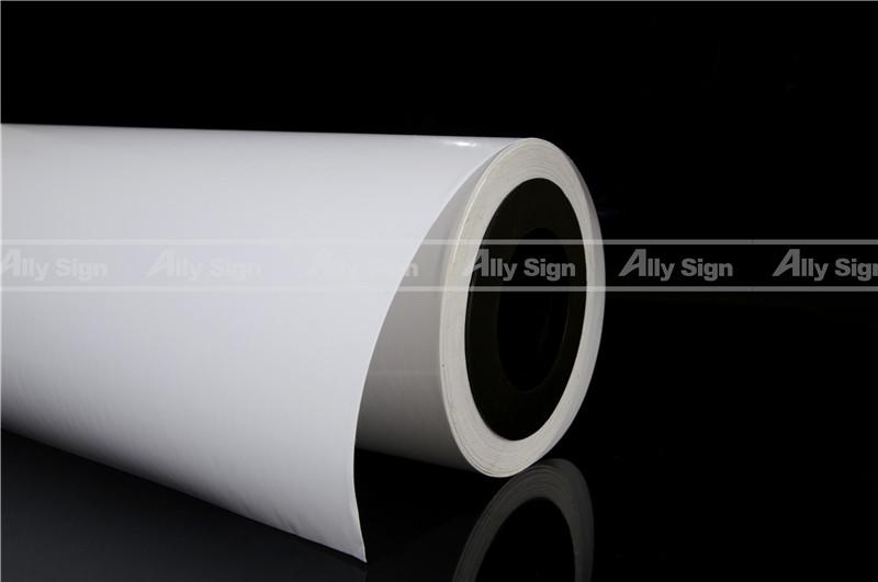 Polymeric Bubble Fee Self Adhesive Vinyl For Car Wrap Digital Printing Material(China (Mainland))