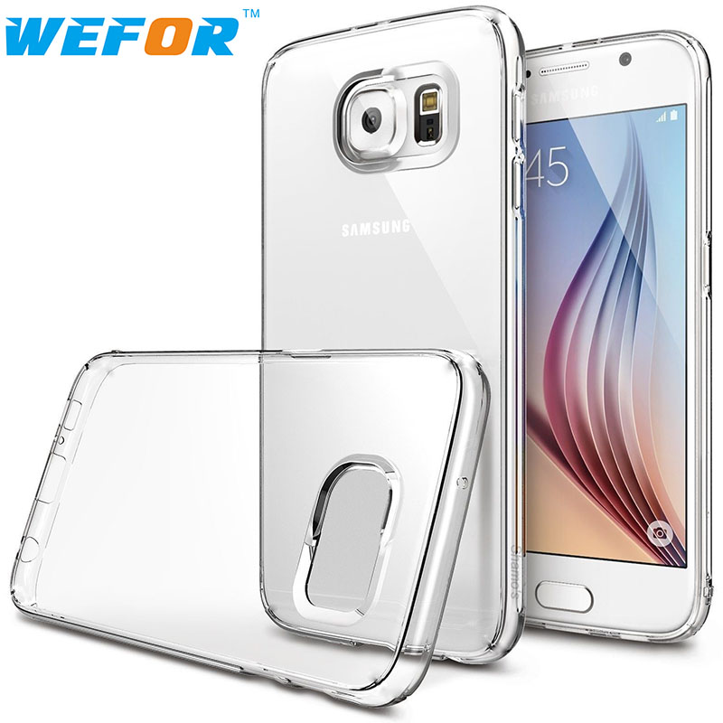 For Samsung Galaxy S7 Case Clear Rubber Shockproof Protective Case Anti-Scratch(China (Mainland))