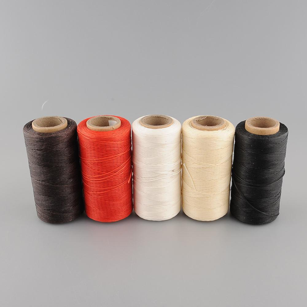 260Meter 1mm 150D Leather Waxed Wax Thread Cord for DIY Tool Hand Stitching Free Shipping(China (Mainland))