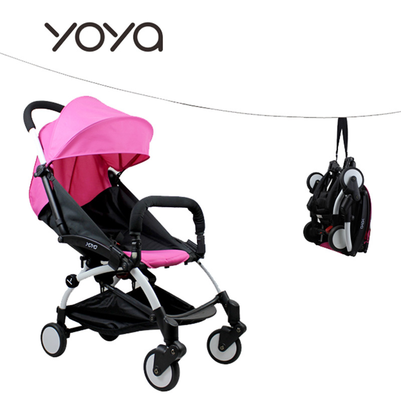 YOYA Folding Baby Stroller Portable Baby Carriage Ultra Light Umbrella Cart Travel Pram Babyzen YOYO Pushchair 24 Colors(China (Mainland))