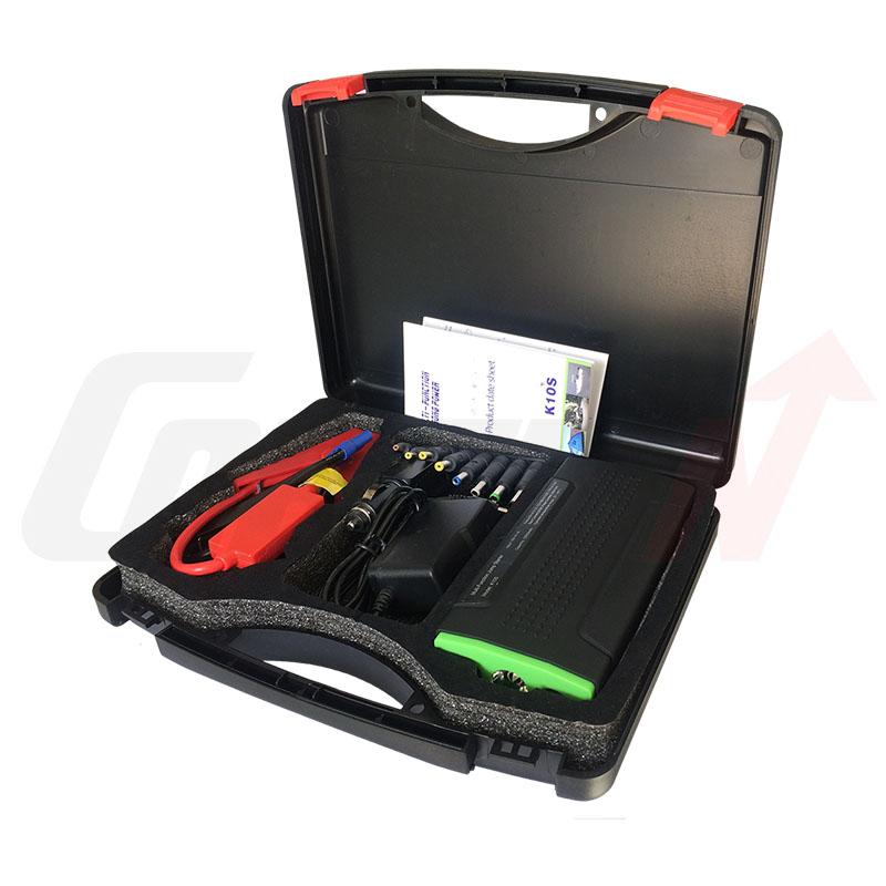Jump Start Car Bttery Booster 12v mini Portable Power Bank Power Supply K10S(China (Mainland))