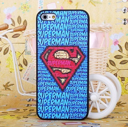 For apple 5 protective case for iphone 5 phone case super man the sign of skinning protective case scrub