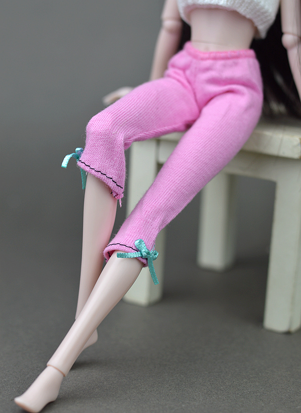Vogue Doll Accesssories Excessive High quality Handmade Mesh Stocking Lace Bottoms Trousers Pants Legging For Barbie Doll Garments