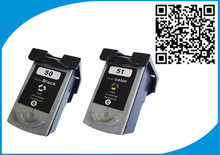 2PK PG-50 CL-51 Ink Cartridge For Canon PG 50 CL 51 Pixma iP2200 iP6210D iP6220D MP150 MP160 MP170 MP180 MP450 MP460 MX300 MX310