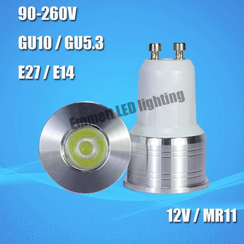 20pcs lot led spotlights gu10 mr11 led bulb 110v 220v 240v. Black Bedroom Furniture Sets. Home Design Ideas